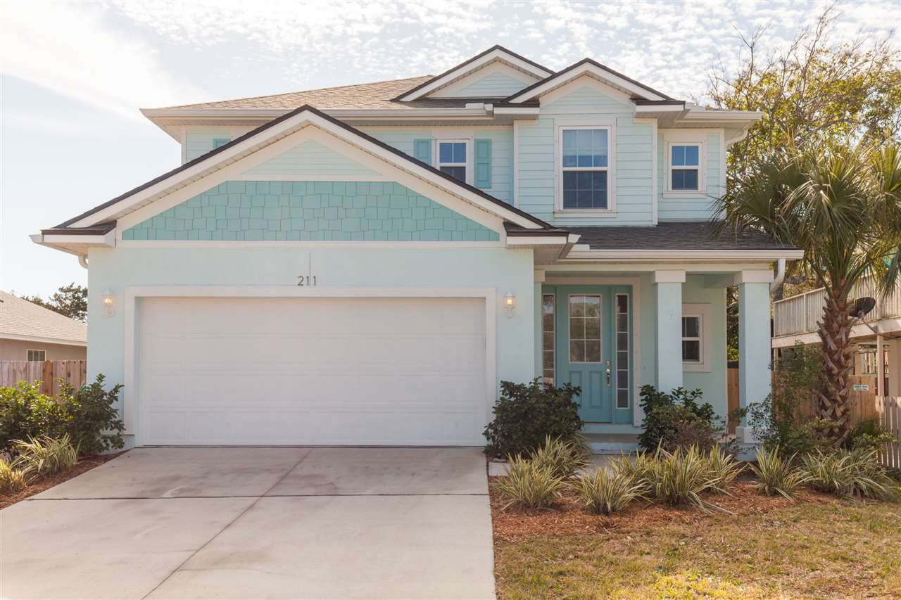 211 11TH STREET, ST AUGUSTINE BEACH, FL 32080