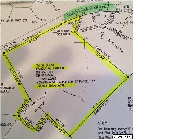 Land for Sale at 5154 WEST RIVER Road Fork Union, Virginia 23055 United States