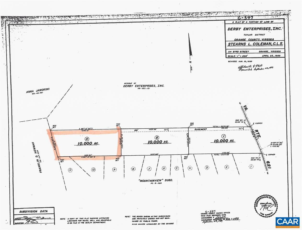 land for sale , MLS #534549,  Pine Stake Rd