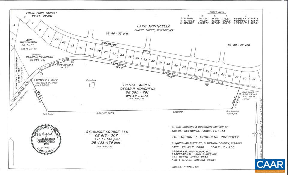 Land for Sale at SOUTH BOSTON Road Palmyra, Virginia 22963 United States