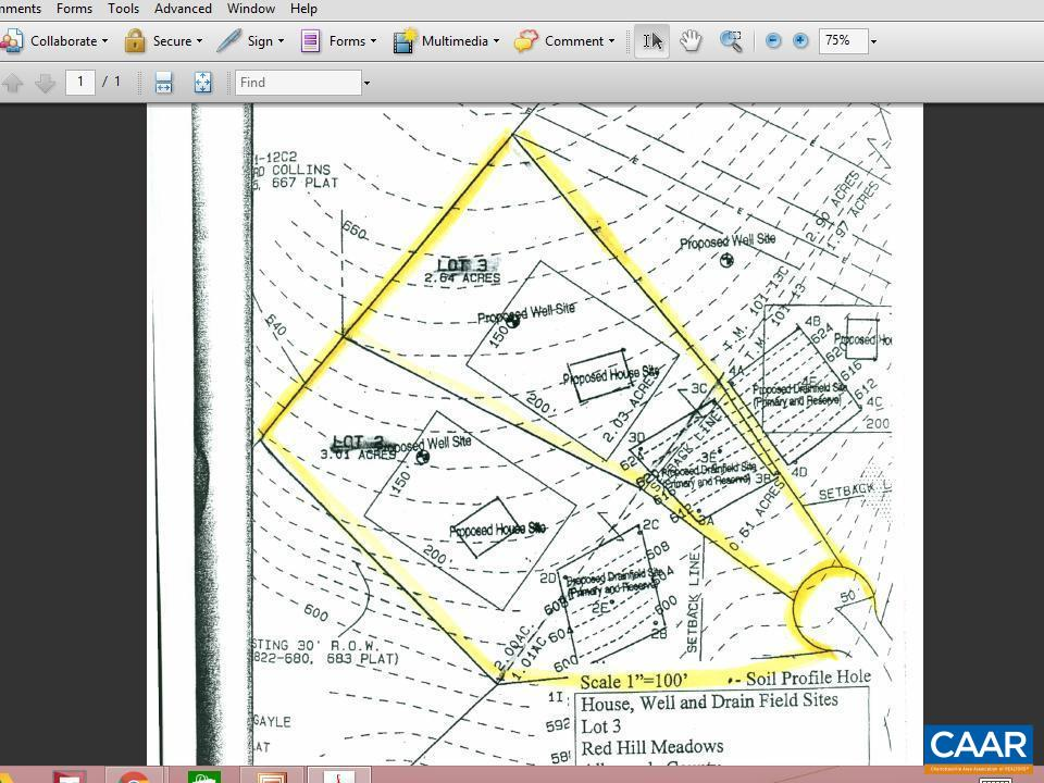 land for sale , MLS #545323, Lot 3 Via Creek Dr