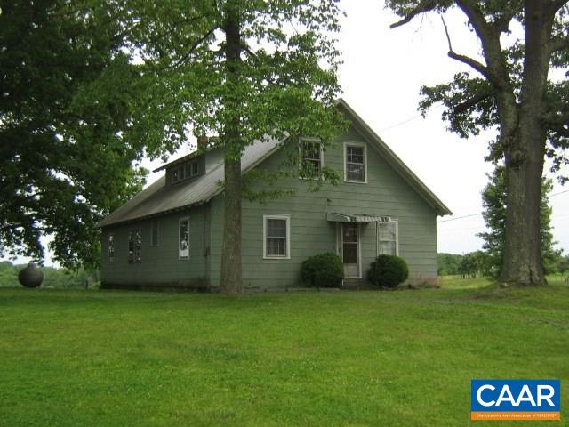 Single Family Home for Sale at 5644 JAMES MADISON HWY Fork Union, Virginia 23055 United States