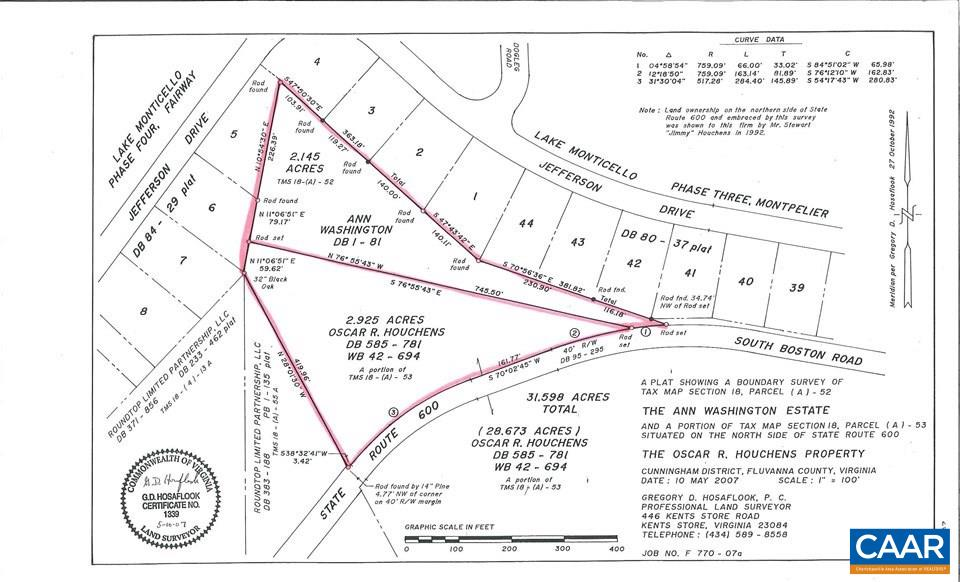 land for sale , MLS #547658, 0B South Boston Rd