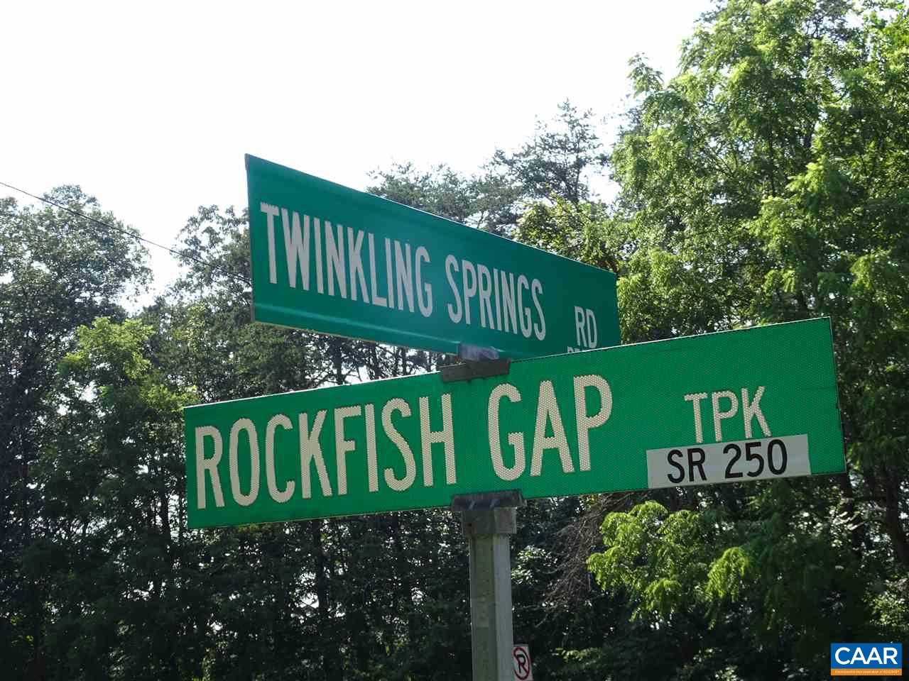 Land for Sale at TWINKLING SPGS Crozet, Virginia 22932 United States