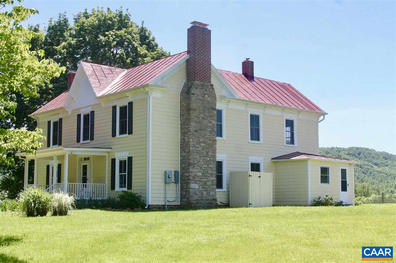 Single Family Home for Sale at 1764 OCTONIA Road Stanardsville, Virginia 22973 United States