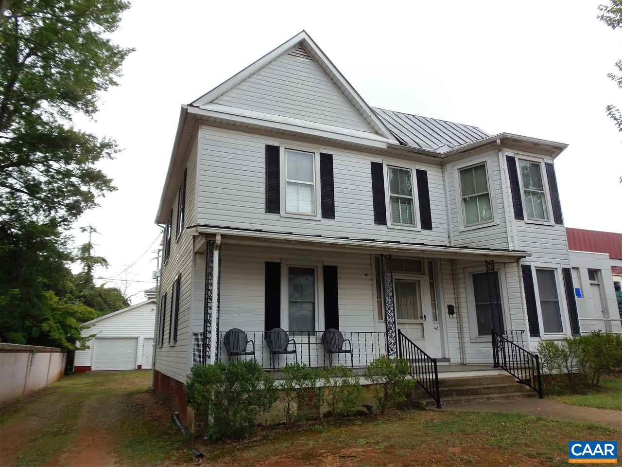 Single Family Home for Sale at 148 W MAIN Street Orange, Virginia 22960 United States