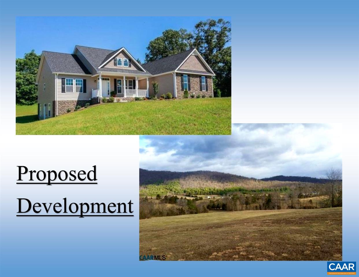 Single Family Home for Sale at LOT 14 LEXINGTON WAY Stanardsville, Virginia 22973 United States