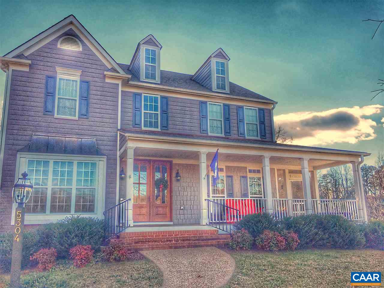 Single Family Home for Sale at 5304 RAVEN STONE Road Crozet, Virginia 22932 United States