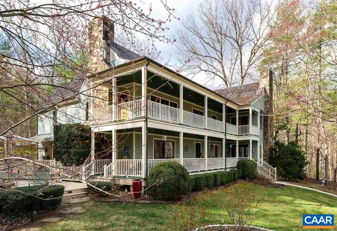 Single Family Home for Sale at 5214 PONT ROUGE FARM Crozet, Virginia 22932 United States