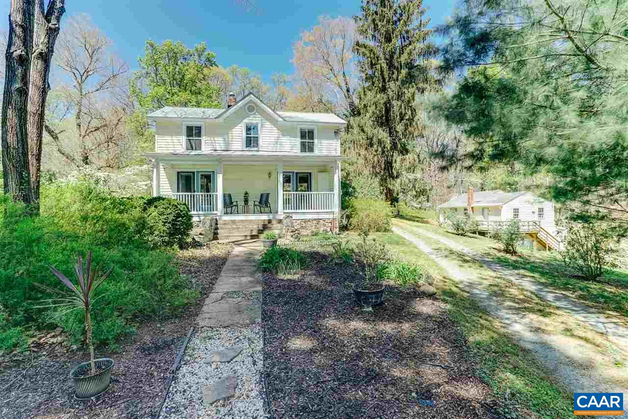 Single Family Home for Sale at 7429 & 7415 STONEY RUN Crozet, Virginia 22932 United States
