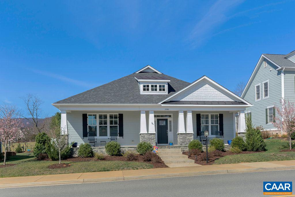Single Family Home for Sale at 1745 OLD TRAIL Drive Crozet, Virginia 22932 United States