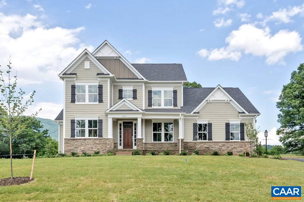 Single Family Home for Sale at 7675 BIRCHWOOD HILL Road Crozet, Virginia 22932 United States