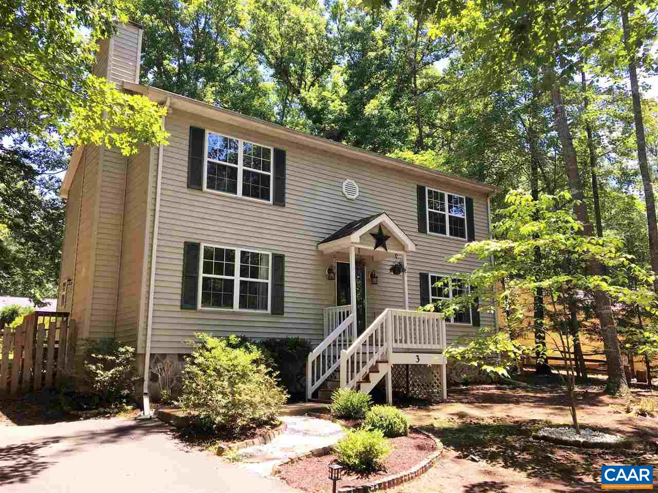 3 HARDWOOD RD, LAKE MONTICELLO, VA 22963