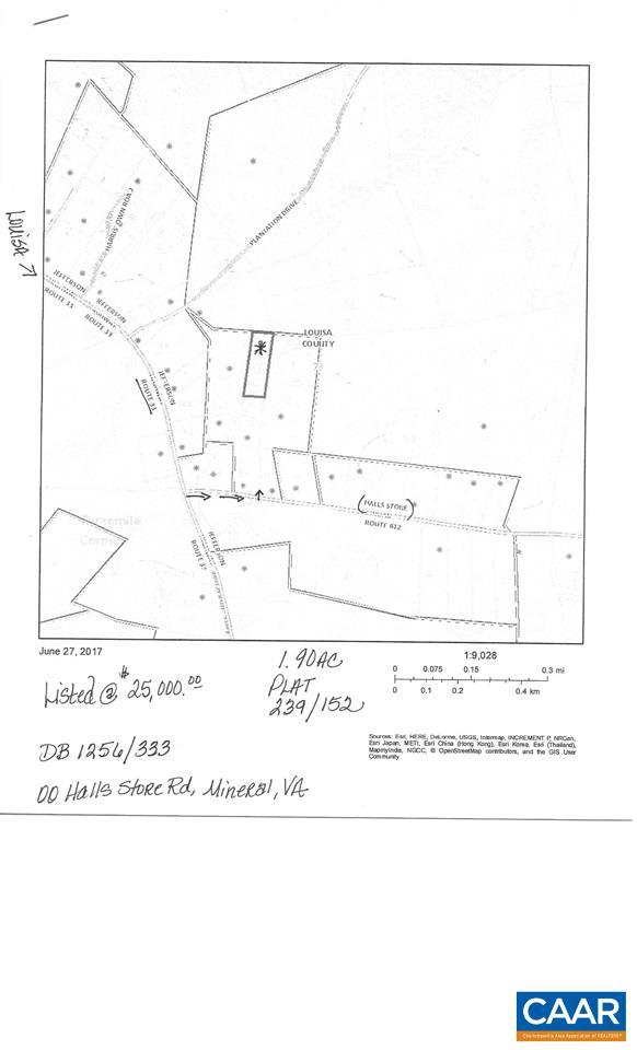 00 HALLS STORE RD, MINERAL, VA 23117