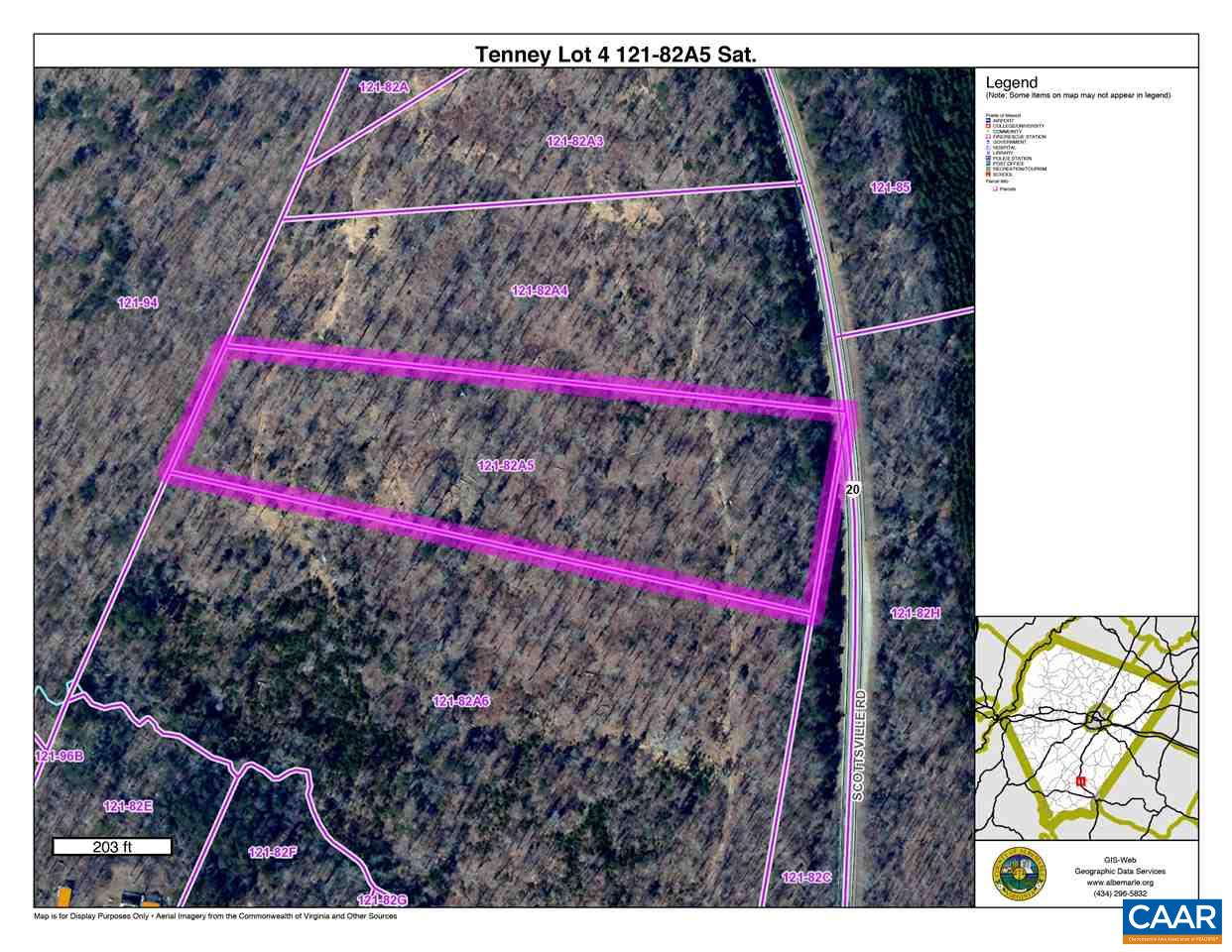 Land for Sale at SCOTTSVILLE Road SCOTTSVILLE Road Keene, Virginia 22946 United States