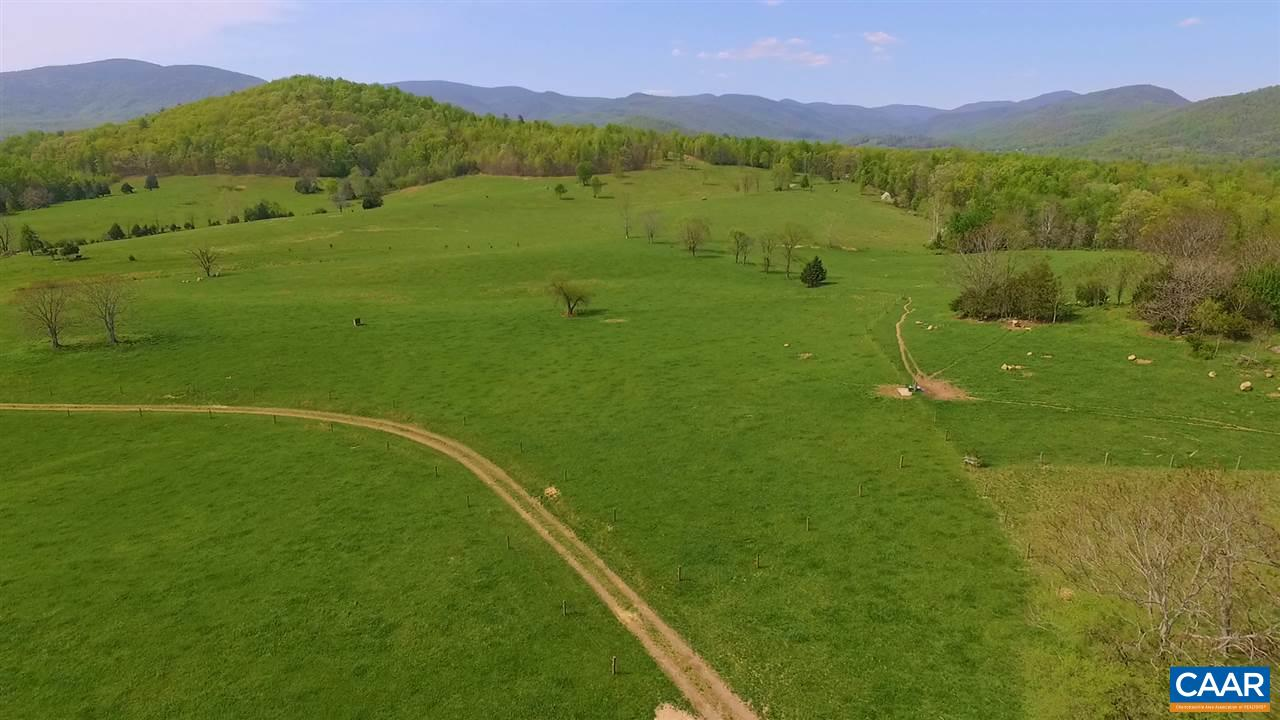 Premier grazing farm in an exceptional location with magnificent views of the Blue Ridge and Southwest Mountain ranges.