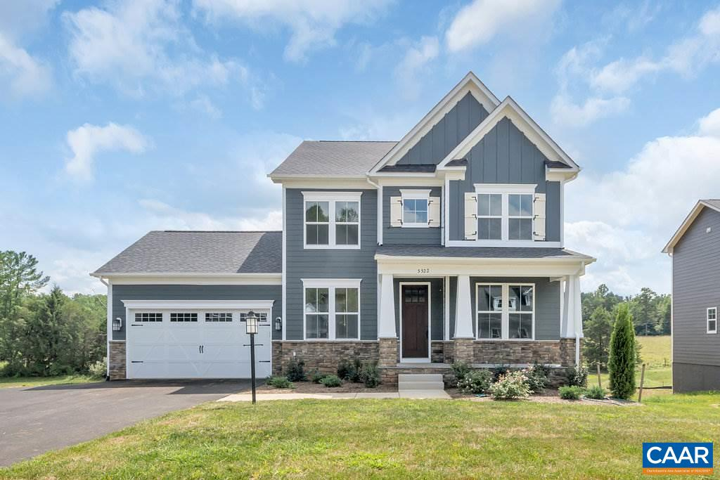 Single Family Home for Sale at 5522 WATERVALE Drive 5522 WATERVALE Drive Crozet, Virginia 22932 United States