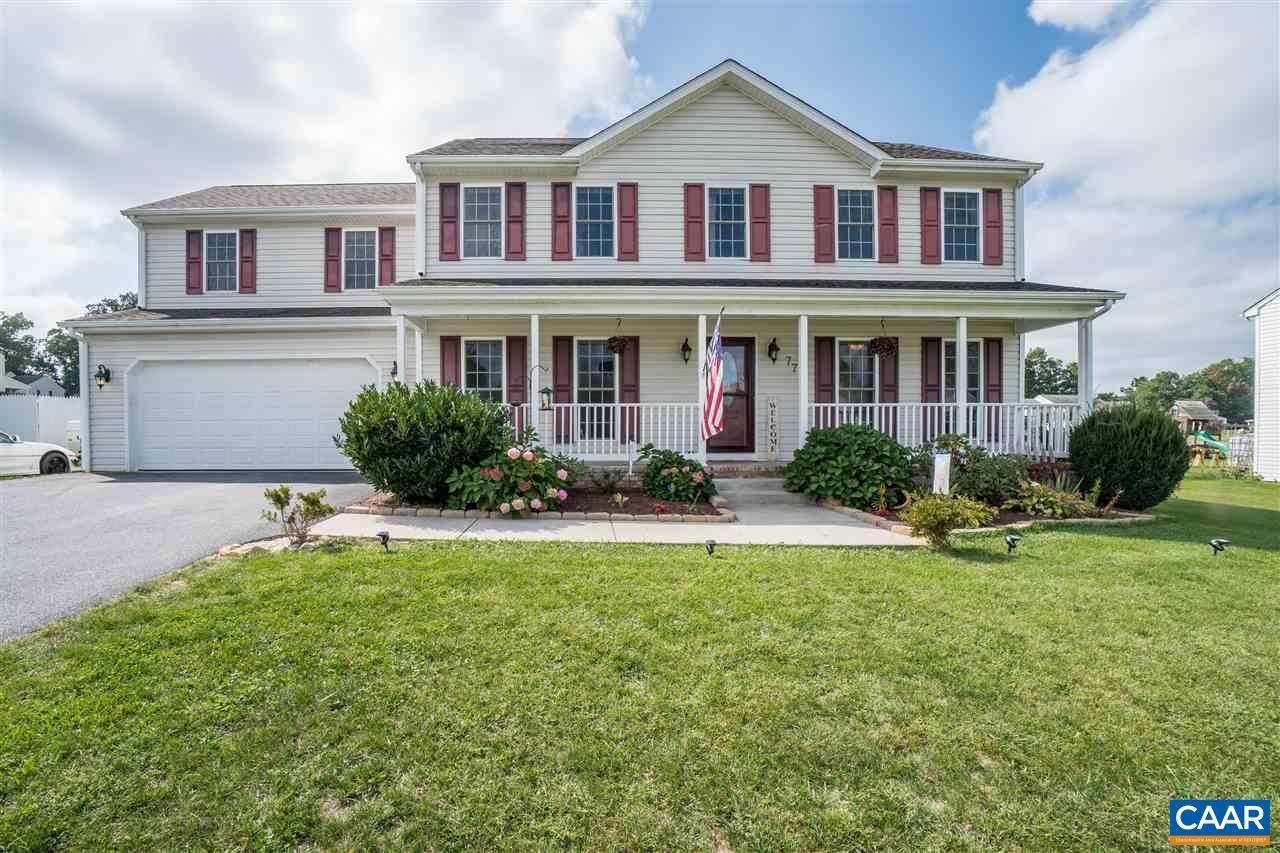 Single Family Home for Sale at 77 LAUREL WOOD Drive 77 LAUREL WOOD Drive Waynesboro, Virginia 22980 United States