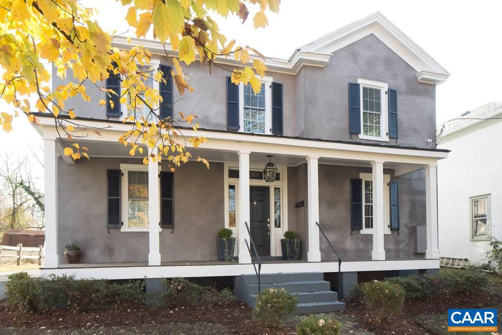 Single Family Home for Sale at 768 RIDGE Street 768 RIDGE Street Charlottesville, Virginia 22902 United States