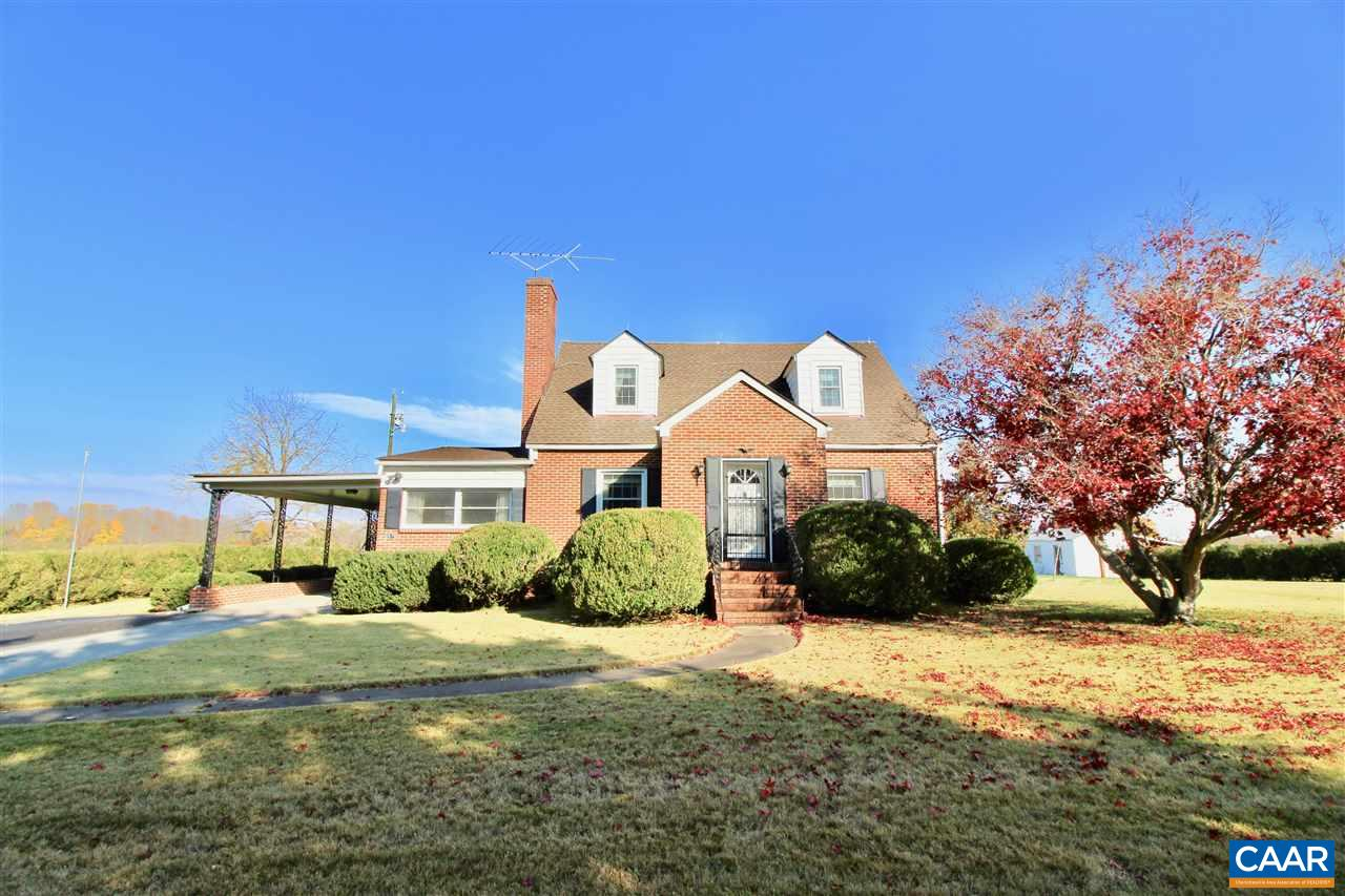 Single Family Home for Sale at 6976 ZACHARY TAYLOR HIGHWAY 6976 ZACHARY TAYLOR HIGHWAY Mineral, Virginia 23117 United States
