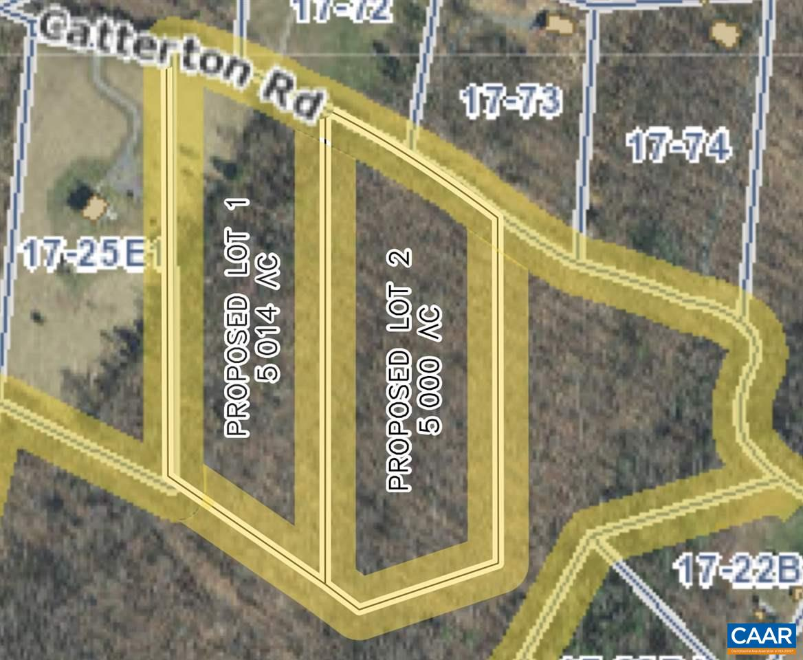 land for sale , MLS #586930, Lot 1 Catterton Rd