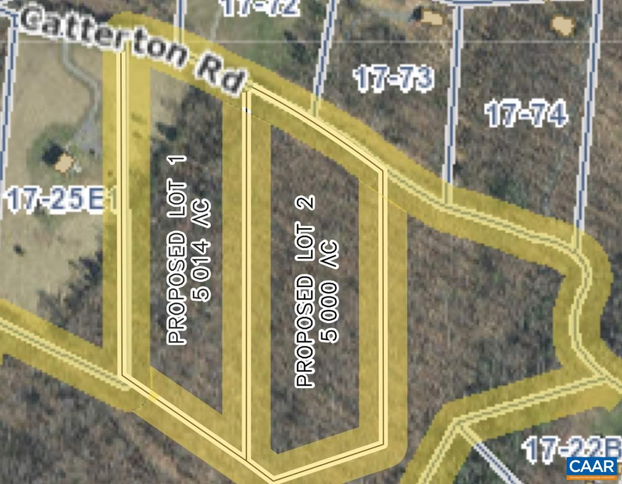 land for sale , MLS #586931, Lot 2 Catterton Rd