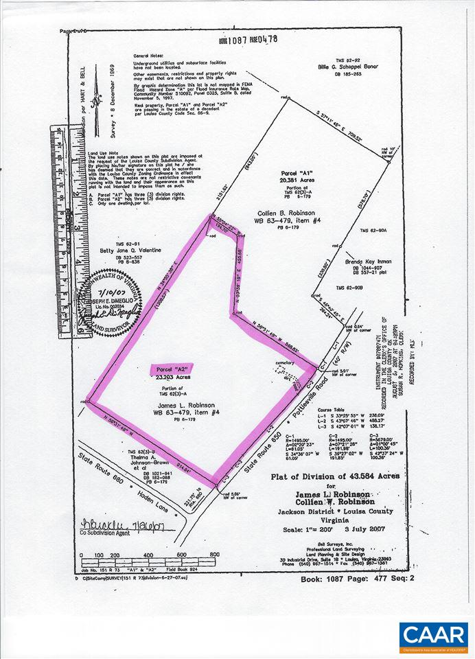 land for sale , MLS #587969, 0 Pottiesville Rd
