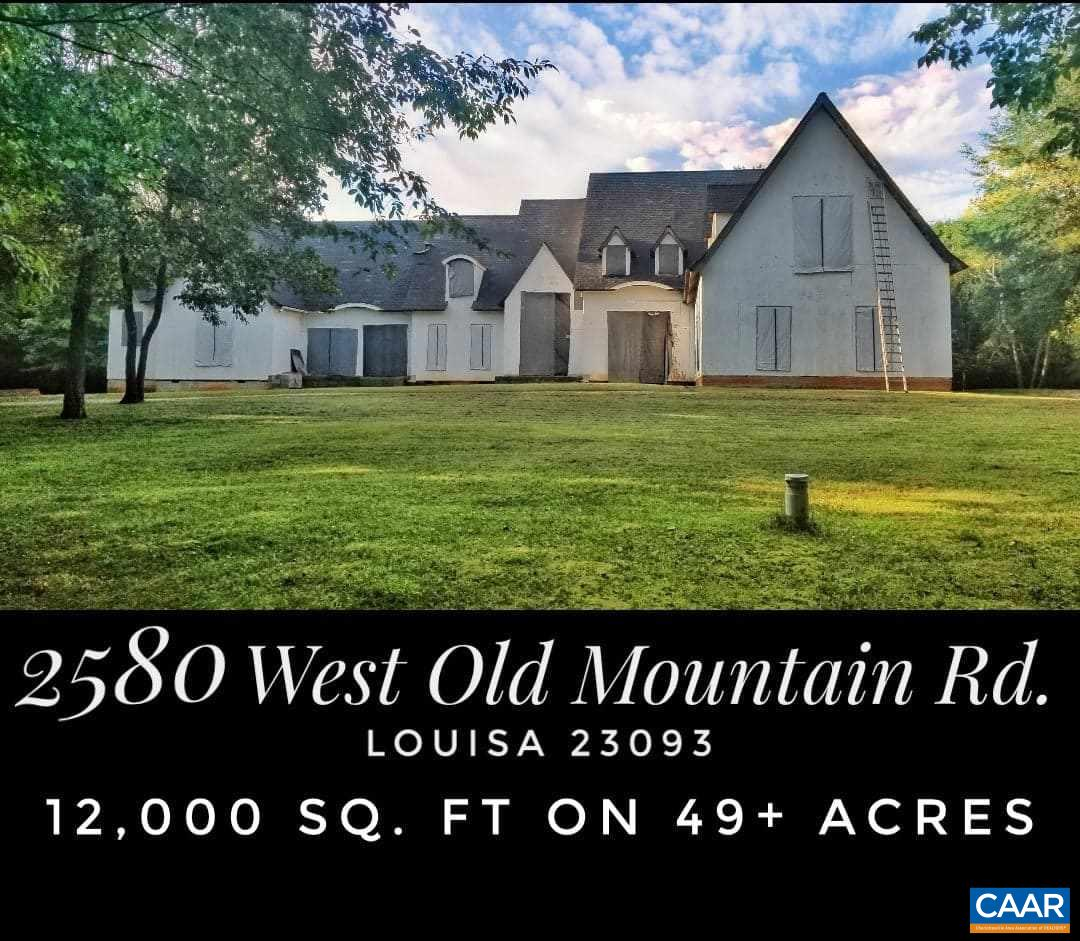 home for sale , MLS #593654, 2580 Old Mountain Rd