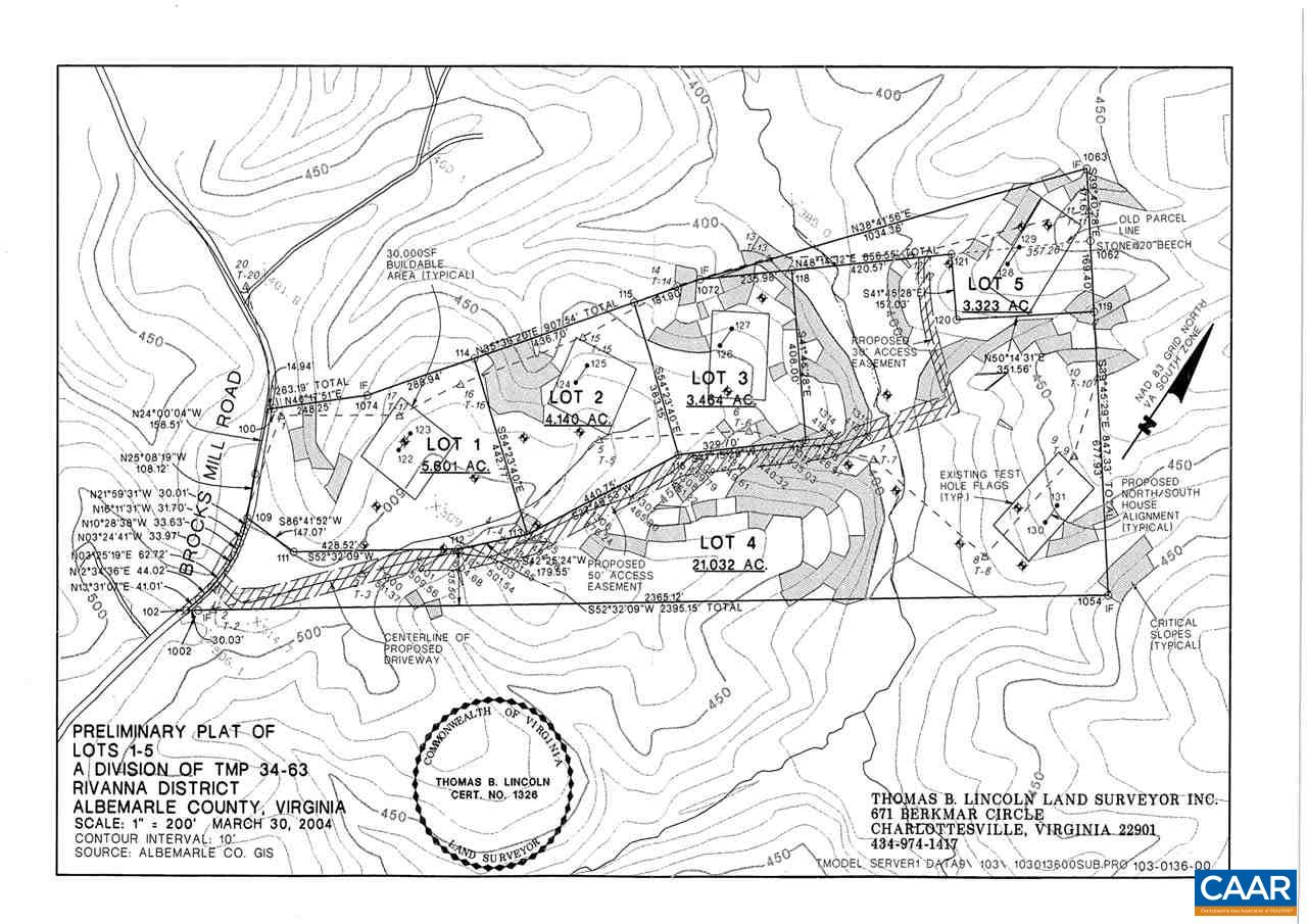 land for sale , MLS #596147, 0 Brocks Mill Rd