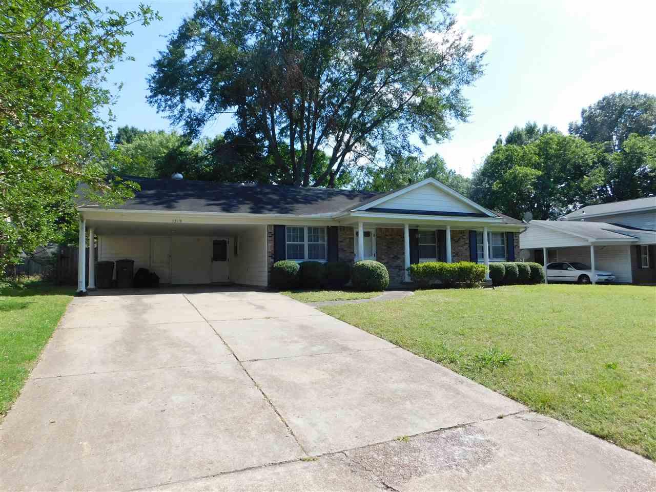 1319 Mary Jane Memphis, TN 38116 - MLS #: 10004939