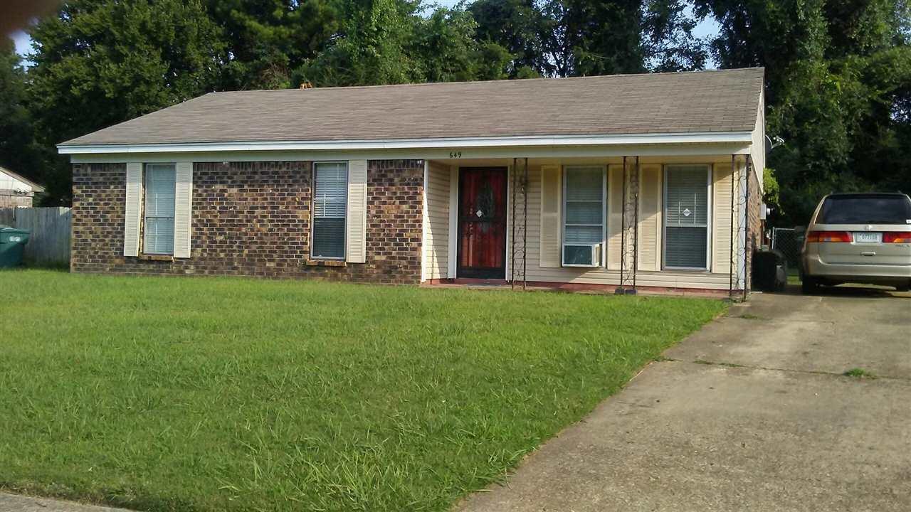 649 Whiteside Memphis, TN 38109 - MLS #: 10008838