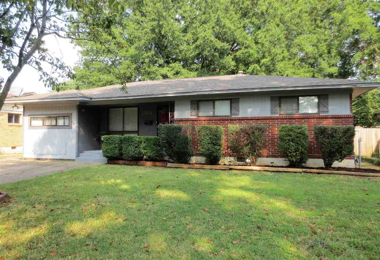 1184 Wilmore Memphis, TN 38117 - MLS #: 10010716