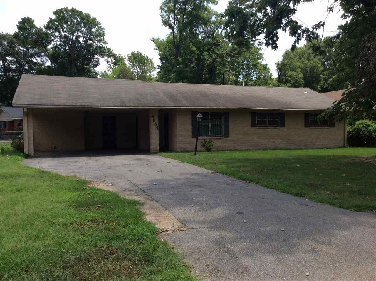 4984 Childs Memphis, TN 38116 - MLS #: 10018552