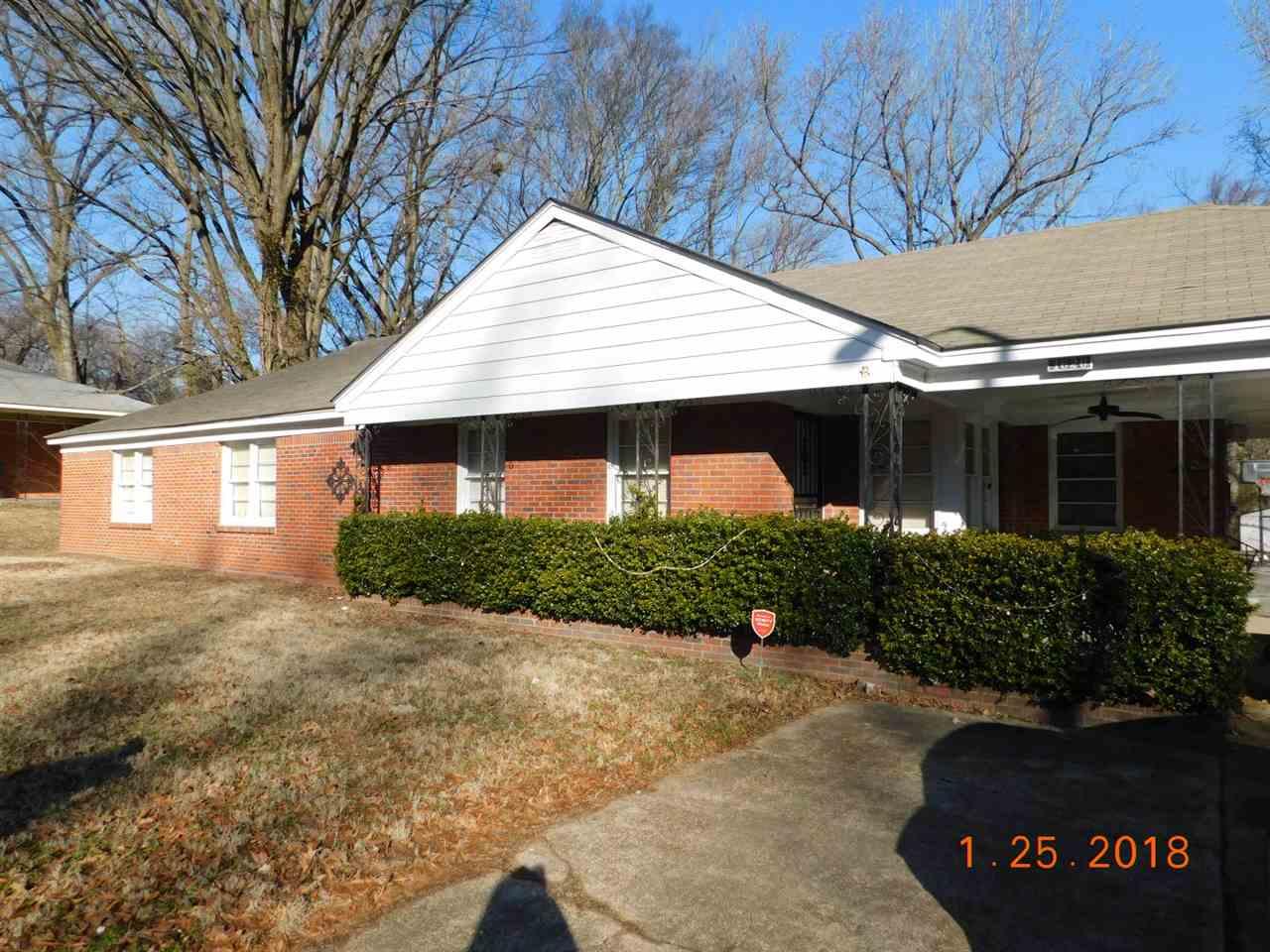 1626 Frayser Memphis, TN 38127 - MLS #: 10020322