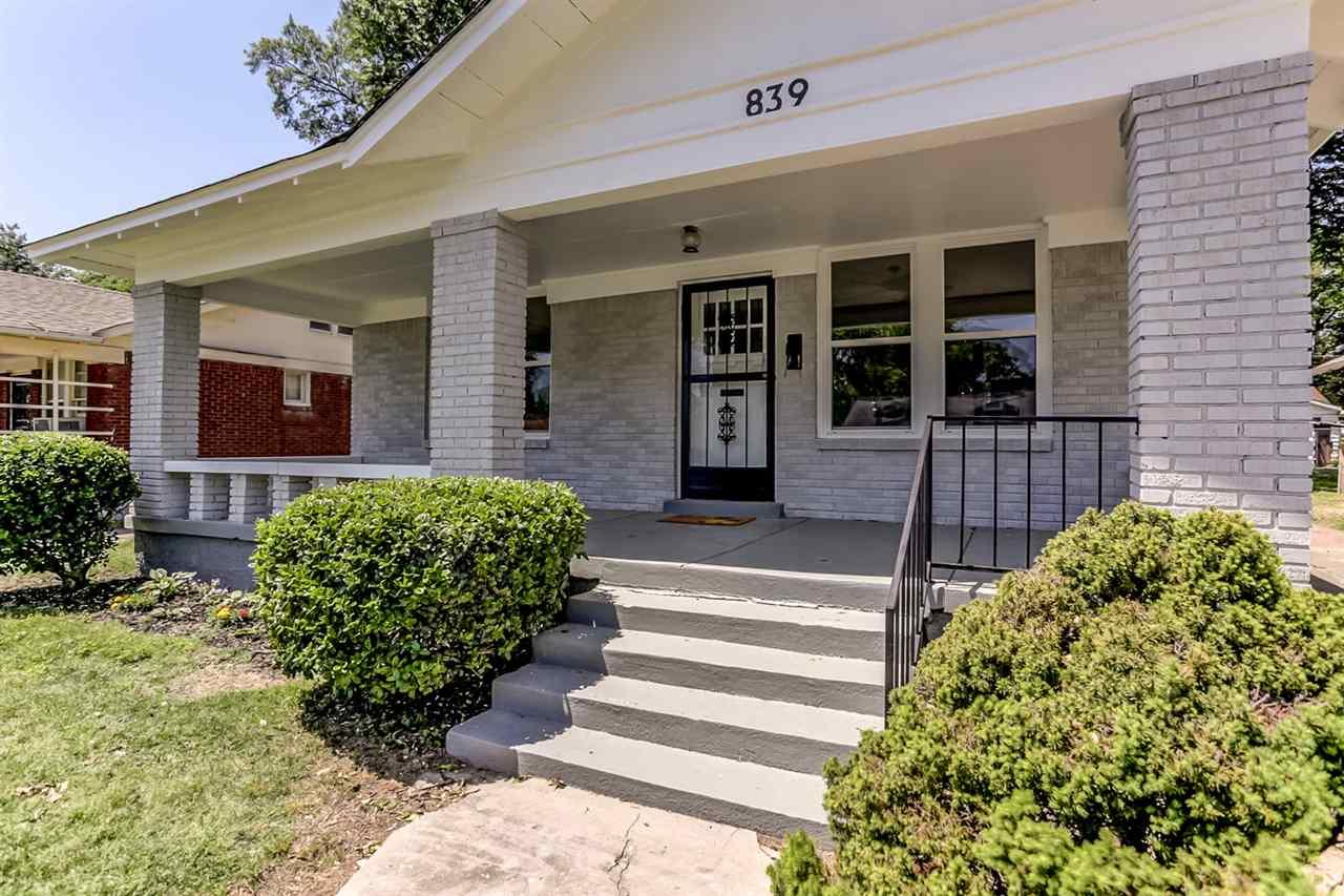 839 Garland Memphis, TN 38107 - MLS #: 10027027