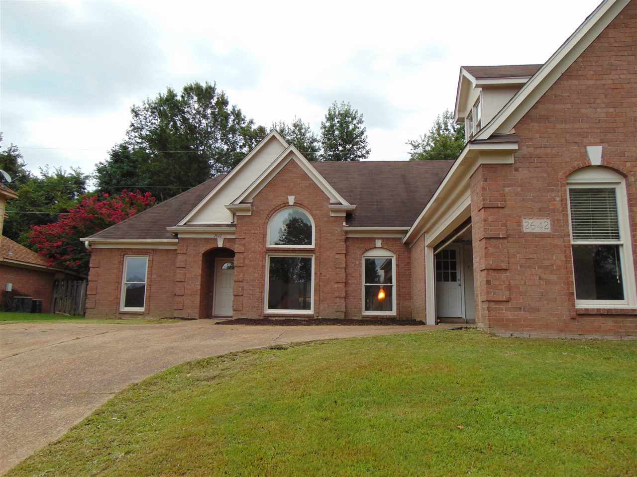 2642 Country Glade Memphis, TN 38016 - MLS #: 10031403