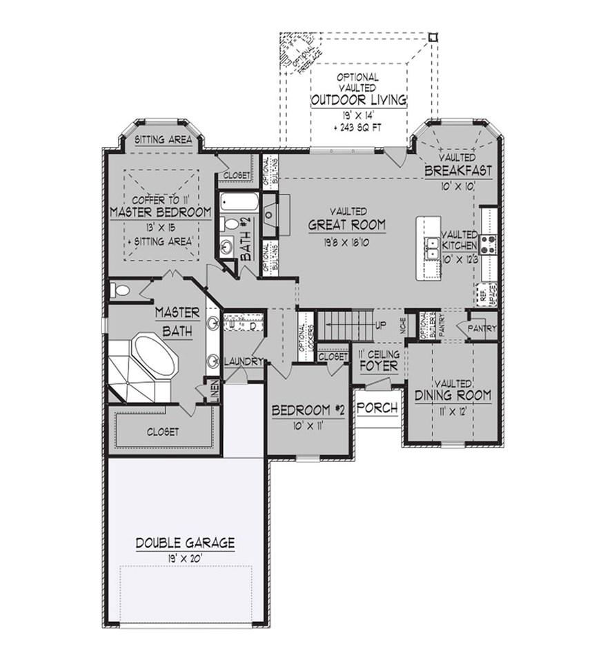 693 Chateau Pointe Southaven, MS 38672 - MLS #: 9963162