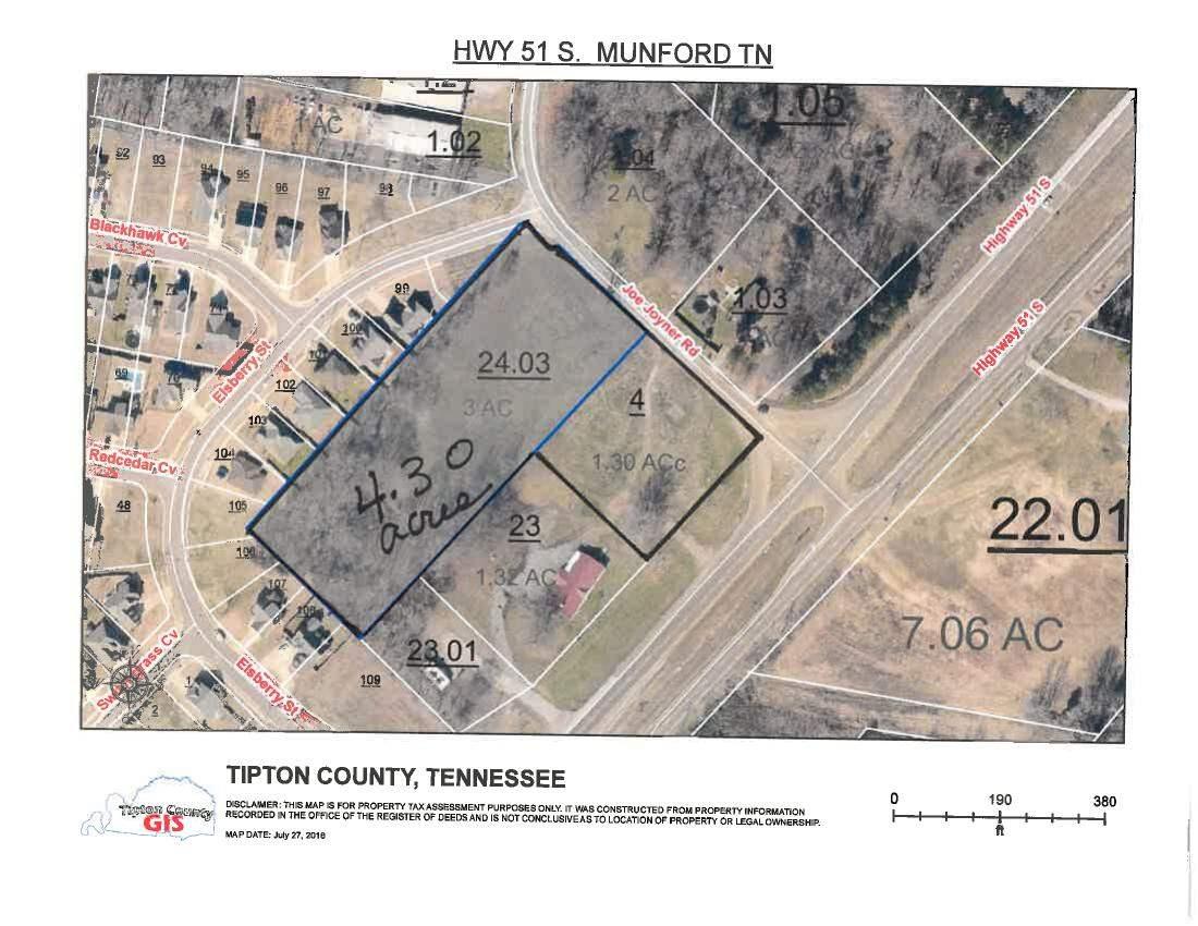 000 Hwy 51 Munford, TN 38058 - MLS #: 9982884
