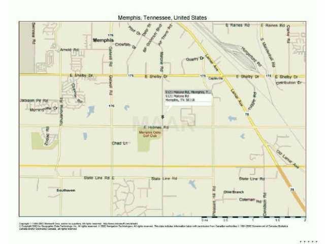 5121 Malone Memphis, TN 38118 - MLS #: 9986843