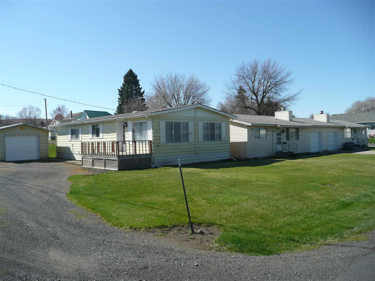 Residential Income for Sale at 205 W Front Street 205 W Front Street St. John, Washington 99171 United States