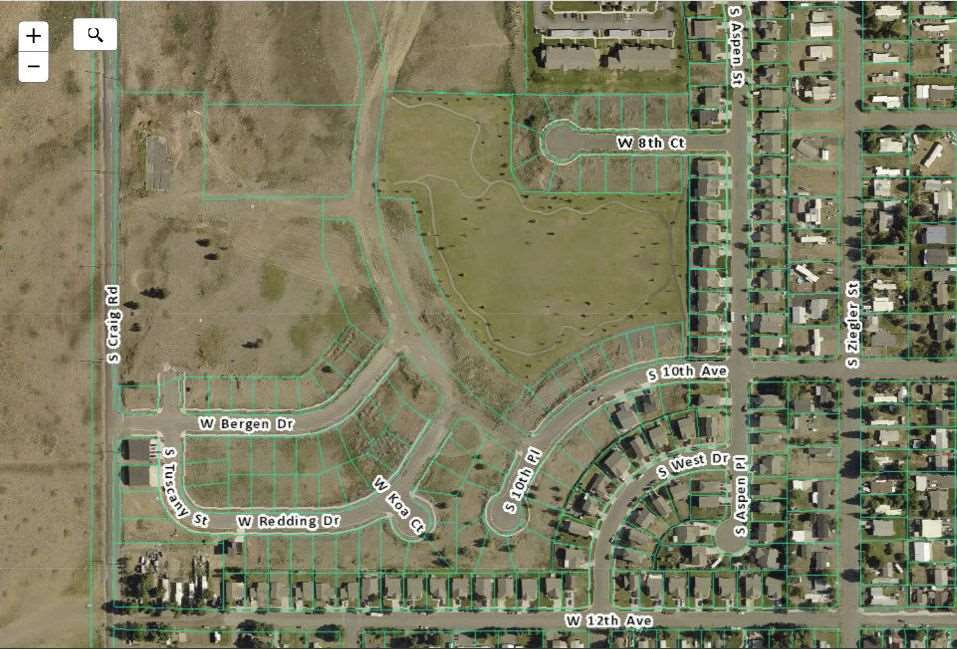Land for Sale at 1046 S 10TH Place 1046 S 10TH Place Airway Heights, Washington 99001 United States
