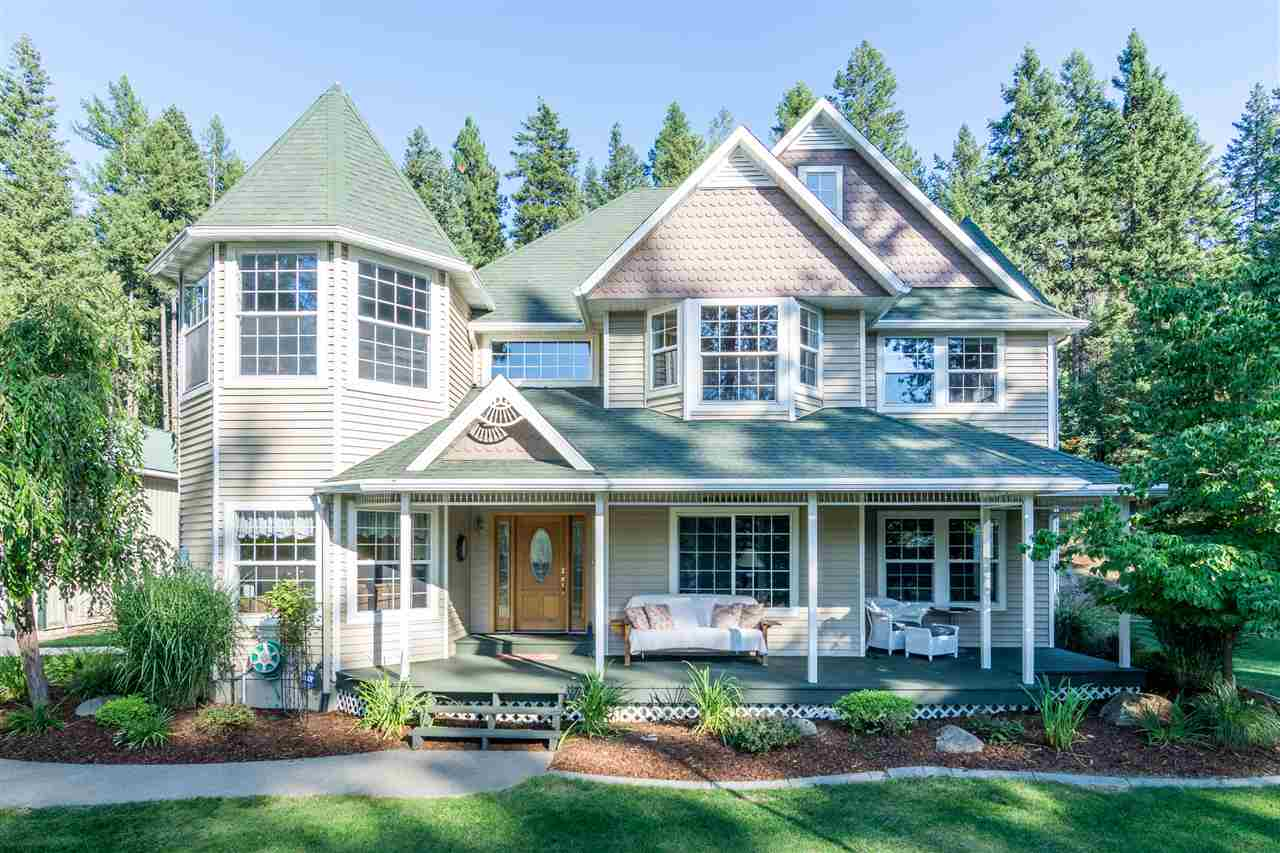 Single Family Home for Sale at 12916 N March Horse Lane 12916 N March Horse Lane Newman Lake, Washington 99025 United States