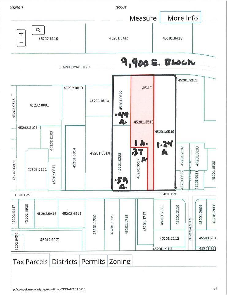 Commercial for Sale at 9900 Blk E Appleway Avenue 9900 Blk E Appleway Avenue Spokane Valley, Washington 99216 United States