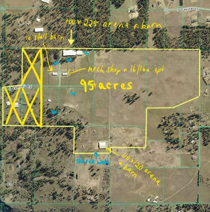 Land for Sale at 8222 S Ramona Road 8222 S Ramona Road Spokane, Washington 99224 United States