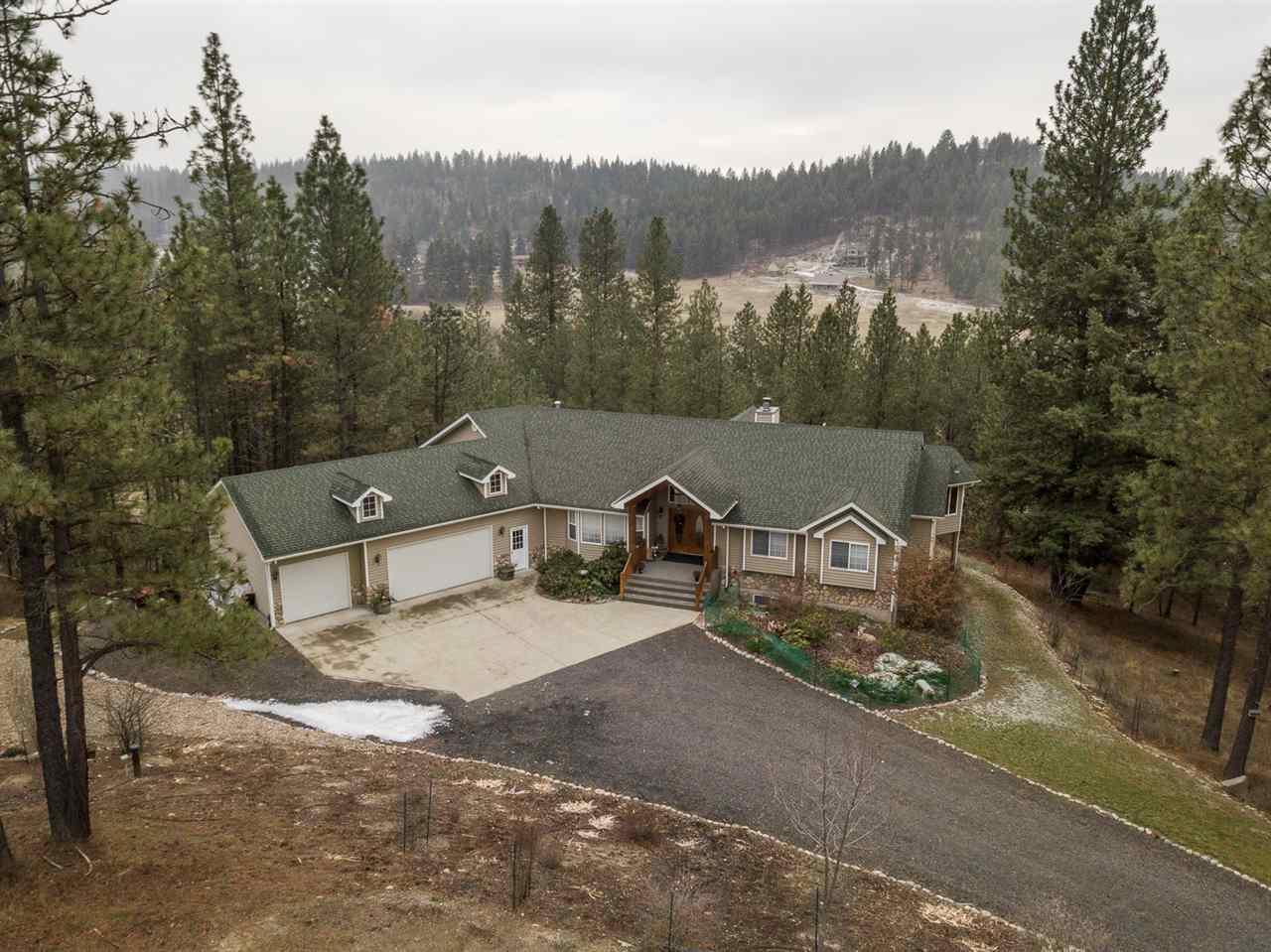 Single Family Home for Sale at 12409 E Big Meadows Road 12409 E Big Meadows Road Chattaroy, Washington 99003 United States