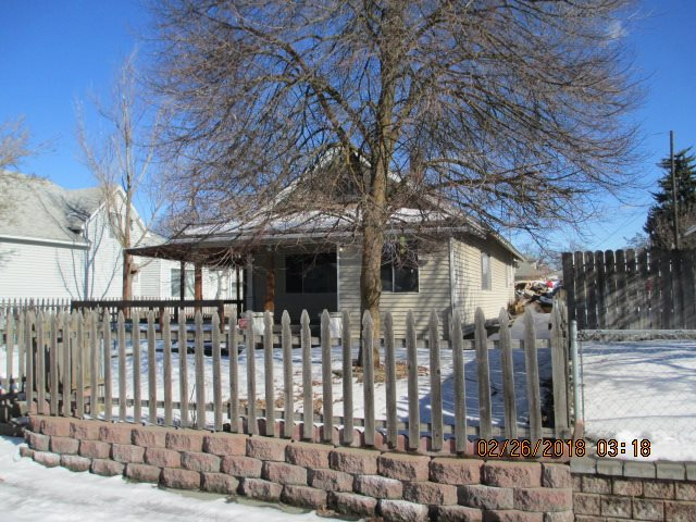 Sold as is.  The property has been stripped down to the studs in most rooms and is ready to go back together.  3 bedrooms, 2.5 bathrooms, large detached 2 plus car garage / shop.  Tax assessed at $118600.00