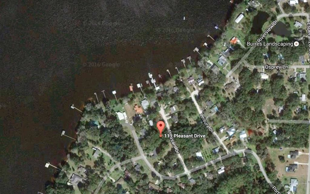 This is 2 1/2 lots total. Lots 35 + 36 as well as 1/2 of Lot 34. Located on paved road, 1 lot off the St. John's River. Flood zone X so no flood insurance needed. 2 building lots (94x120). Deep well and septic permits. Temporary electric on site. Build 2 homes + permit 1 well for both properties. Located in a beautiful, peaceful setting!
