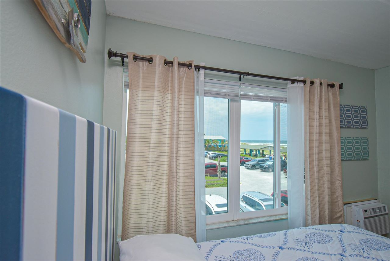 2nd floor ocean view updated studio condo. Perfect for a weekend getaway or investment property. The property is pet-friendly and has a large, heated pool. The unit has a full kitchen and is fully furnished.