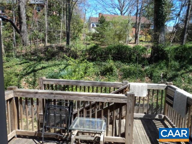 Image of Backyard of a home in The Meadows Charlottesville, VA