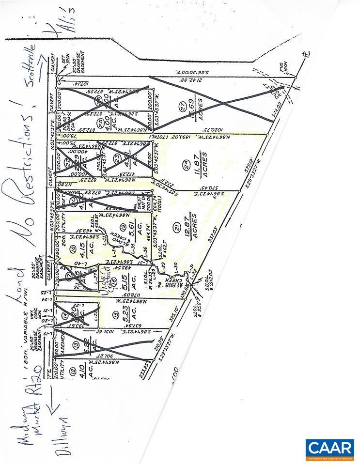 Lot 21 S CONSTITUTION RTE 21, SCOTTSVILLE, VA 24590